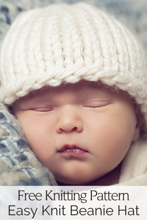 Easy Baby Hat Free Knitting Pattern