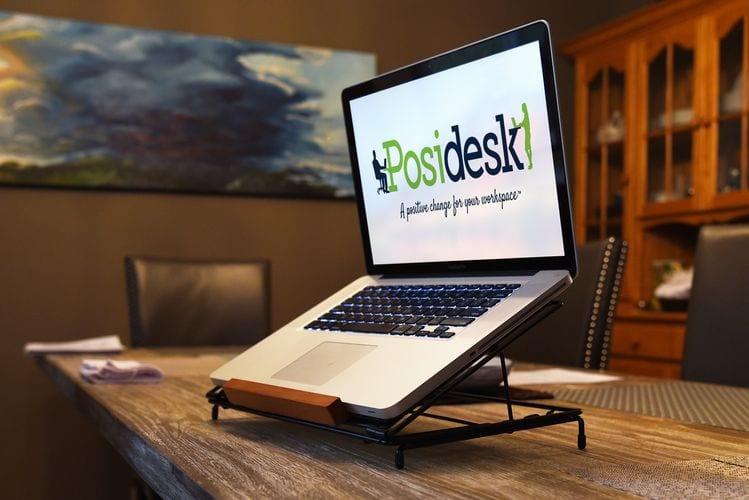 posidesk POSI211LP adjustable laptop stand 2