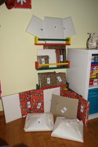 Our book advent calendar