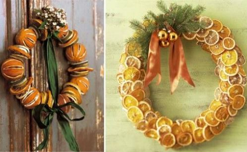 Dried Citrus Christmas Decor dried fruits wreaths