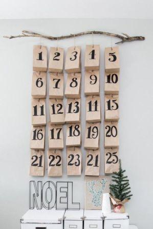Ημερολόγιο έλευσης DIY