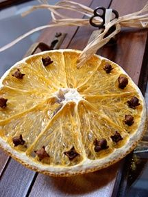 citrus and spice ornament