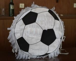Our DIY Soccer Pinata