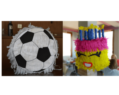 DIY Pinata Tutorial: Shopkins Pinata and Soccer Ball Pinata