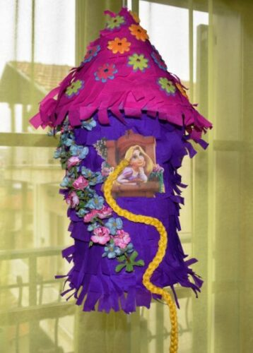 The DIY Rapunzel Pinata