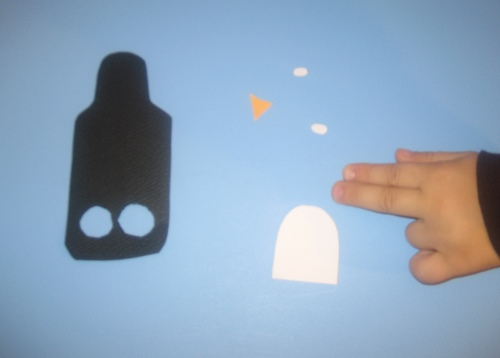 easy kids craft penguin finger puppet diy and items