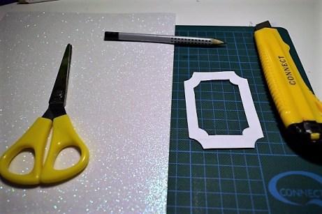 Glitter αφρού φωτογραφία διακοσμητικά υλικά