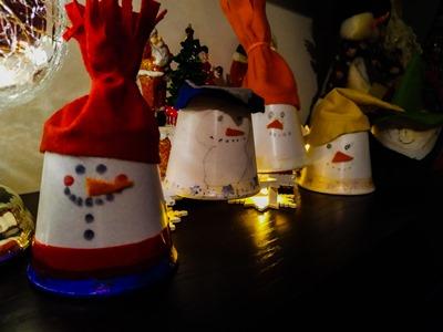 Easy and Cute DIY Christmas Ornament Snowman