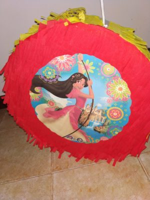 Elena of Avalor DIY pinata