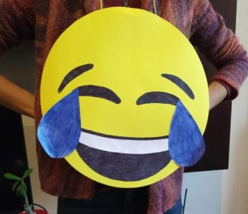 easy DIY Emoji costume