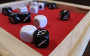 How to make a DIY dice roll tray