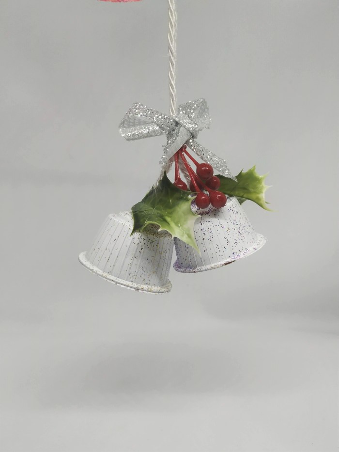 diy christmas bell ornaments white 1