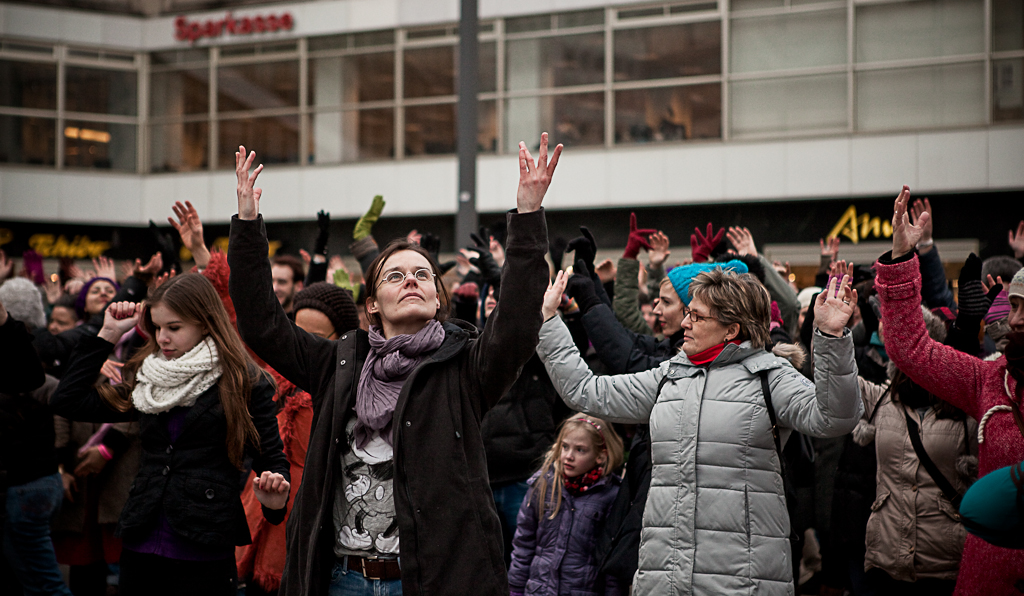 One Billion Rising Berlin - Petra Fantozzi