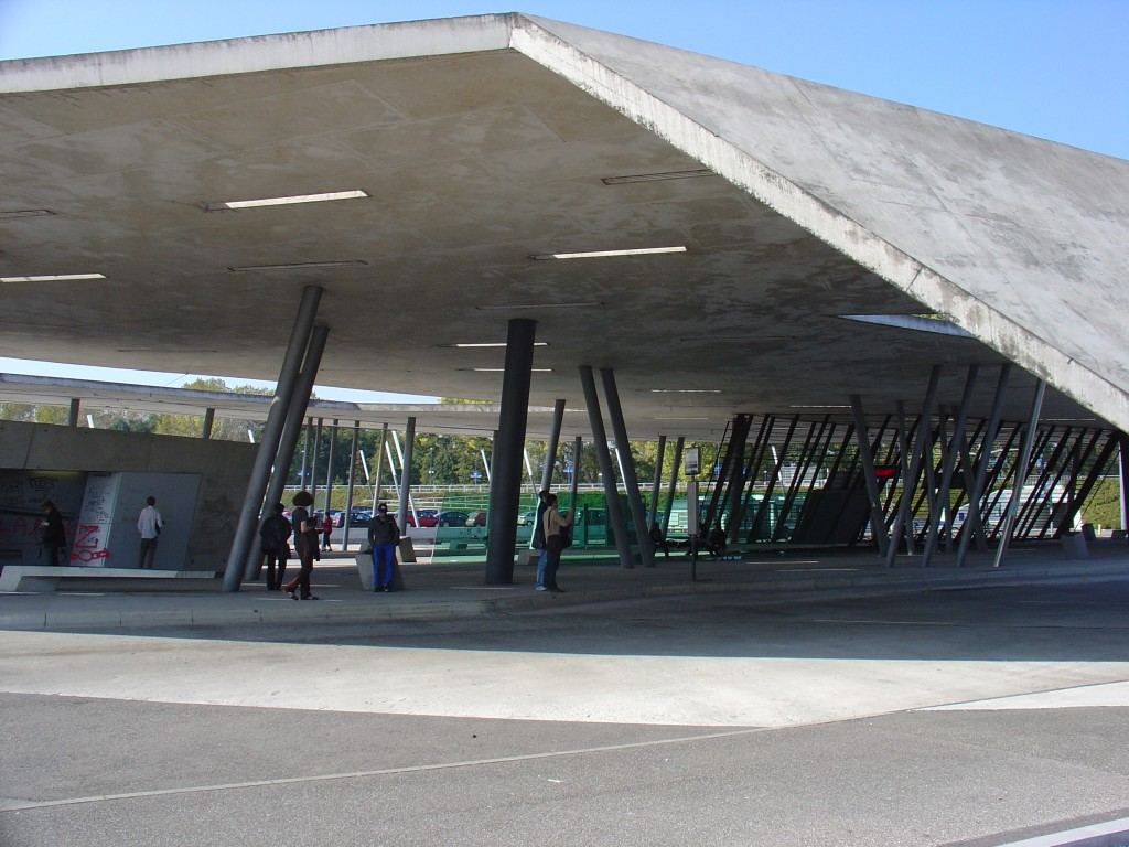 zaha, Car Park and Terminus Hoenheim North