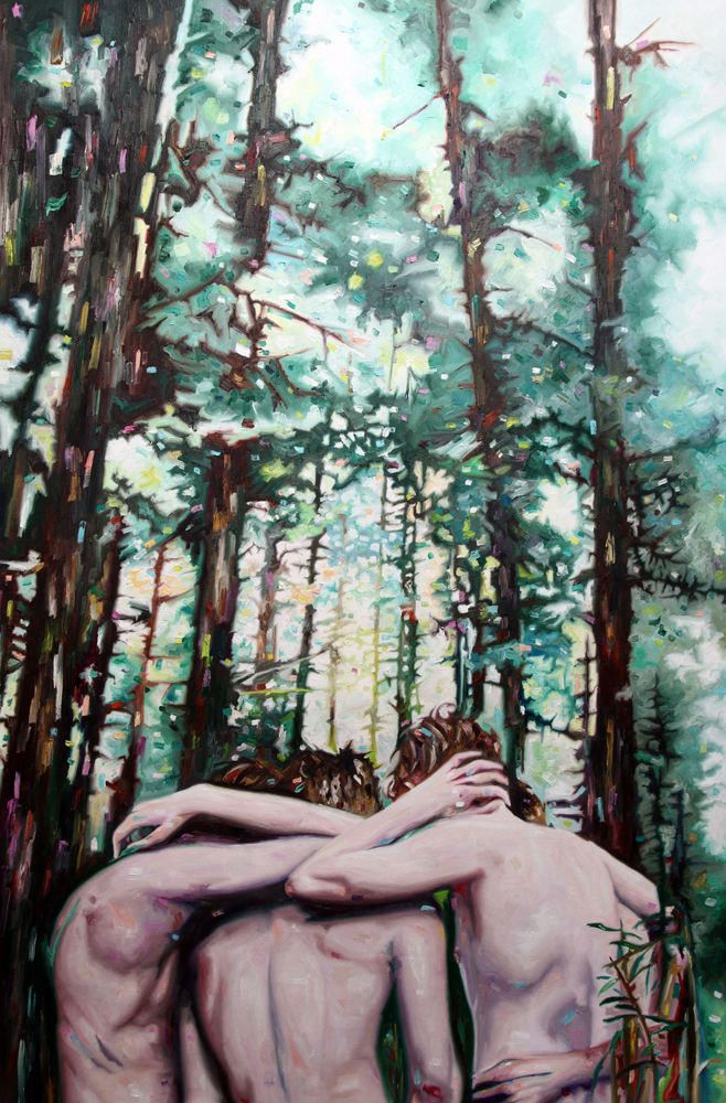Elsewhere, oil on canvas, 170x112 cm, 2013