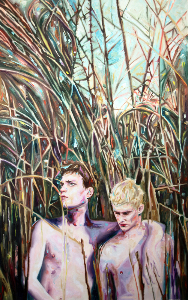The gatekeepers, oil on canvas, 137x85 cm, 2013