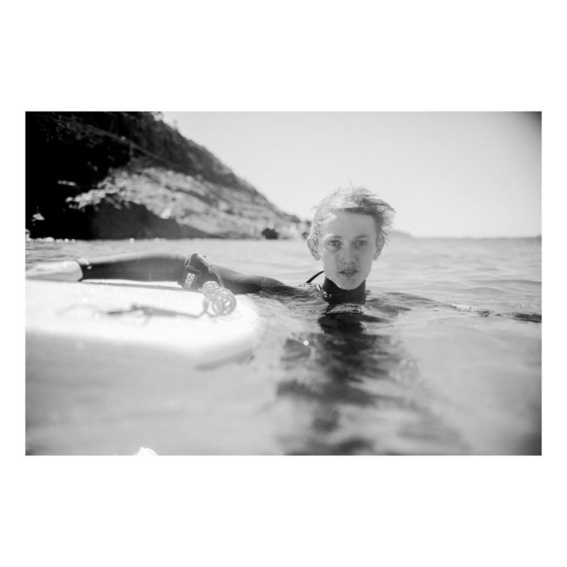 floating surfer.