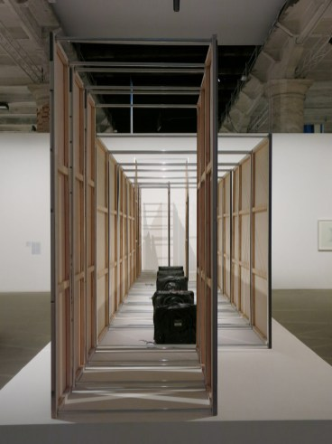 Analogue Broadcasting Hardware Compression, 2013. Photo by Contemporary Art Daily
