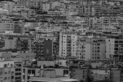 Photo Essay about contrast between traditional and modern in Tirana, Albania