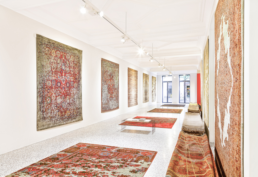 Rug Art, Contemporary Art, Jan Kath, Erased Heritage, minimalism, culture
