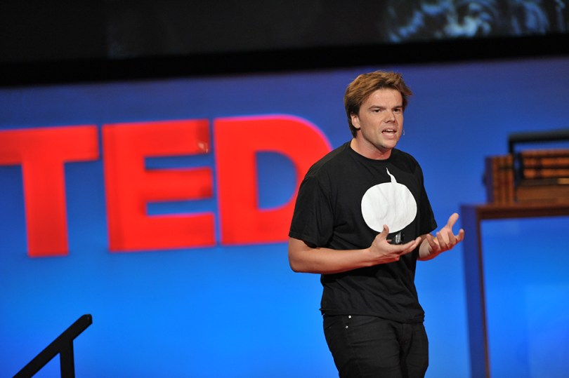 """Bjarke Ingels at TEDGlobal 2009, Session 11: """"Cities past and future,"""" July 24, 2009, in Oxford, UK. Credit: TED / James Duncan Davidson"""