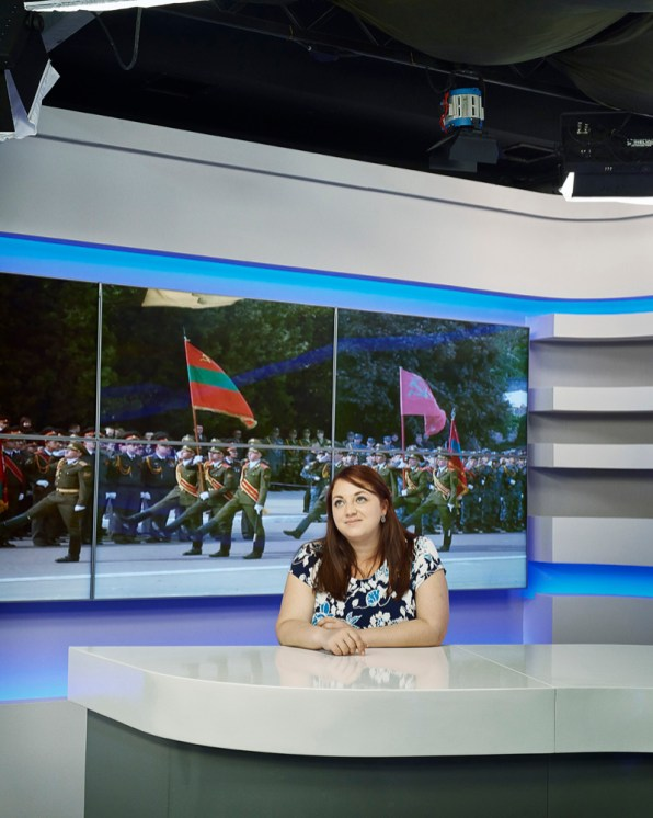 Tatyana Syarova - Editor in chief Transnistrian TV Channel 1