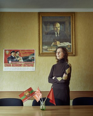 Nadezhda Bondarenko - Editor of Transnistrian Newspaper 'Pravda'