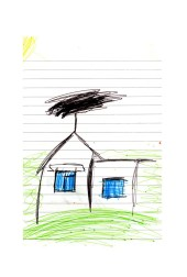 Sabina Filanovich draws a picture of her newly adopted home. The children will spend up to a month with host families around the Pembrokeshire area of the U.K. An astonishing 85 per cent of Belarusian children are deemed to be Chernobyl victims: they carry Ògenetic markersÓ that could affect their health at any time and can be passed on to the next generation. A vicious cycle that unfortunately could continue for hundreds if not thousands of years. From the series 'The Healing Land'