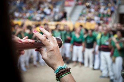 Gralla: the typical and genuine instrument of the Human Towers tones.