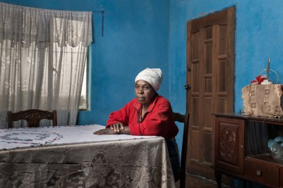 Manthatuda Josephina Lebina is the widow of Liphapang Lebina who had silicosis and received no compensation.