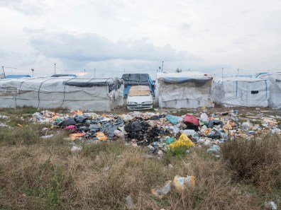 Italy, Calabria, Rosano. 2015. The ghetto exceeds over 2000 people around in the winter season.