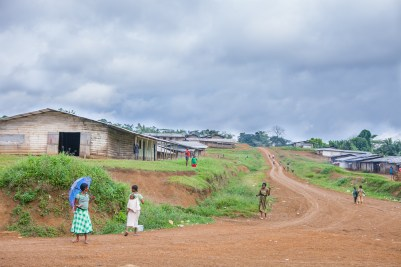 Bakumba is a rural village in western Cameroon. At every corner you can find young girls with babies or already pregnant. Bakumba, Cameroon. 2014