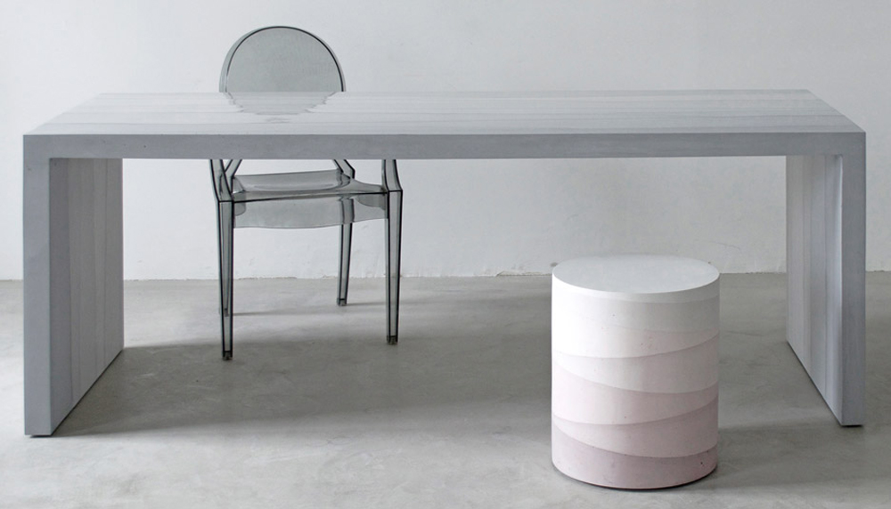 Fernando Mastrangelo, Design, New York, Cement, Furniture