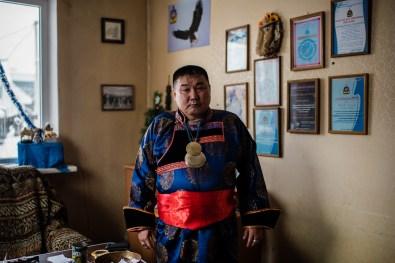 "Irkutsk city, in the office of Local religious organization of shamans ""Baikal""."