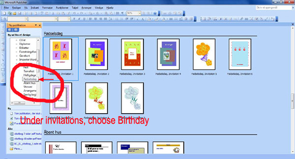 Make Your Own Birthday Invitations Step By