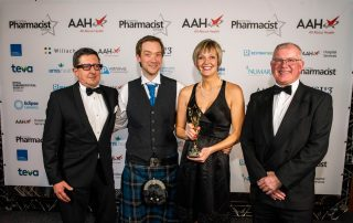 Winners of The Innovation & Enterprise Within Pharmacy Practice Award