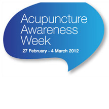 Acupuncture Awareness Week 2012
