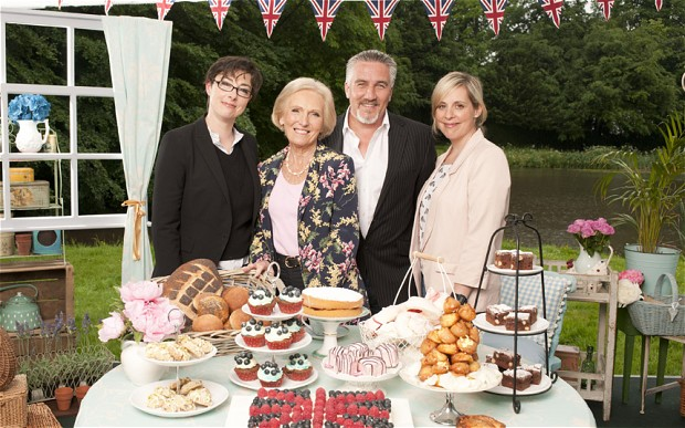 The Great British Bake Off!