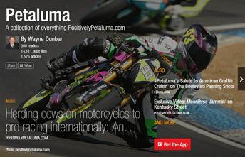 How to use Petaluma Flipboard Magazine