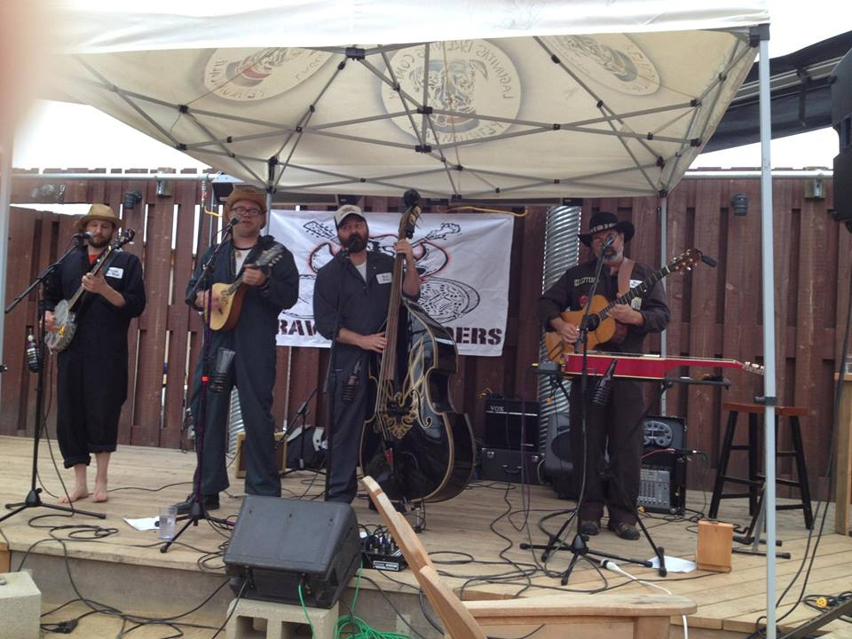 The Gravel Spreaders at #Petaluma's Lagunitas – Hee Haw Metal???