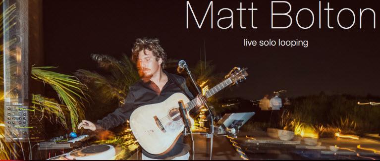 One-Man-Band Matt Bolton jams at #Petaluma's Lagunitas Taproom