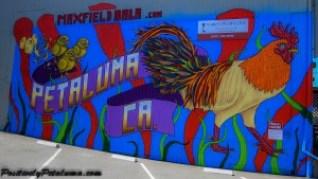 Maxfield Bala's Mural, Photo By Positively Petaluma