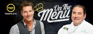 On The Menu Hosts Ty Pennington and Emeril Lagasse