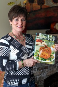 Taste of Home 2010 is the first cookbook in which one of Laurie Figones recipe's was published