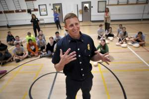 Petaluma Fire Chief Jeff Schach (Photo by BETH SCHLANKER/ The Press Democrat)