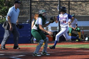 Freshman Lauren Vollert Petaluma High School Trojans Girls Softball T-Girls