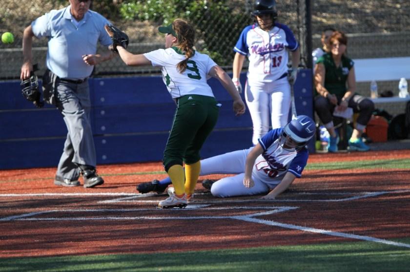 Olivia Sikora Petaluma Trojans Girls Softball T-Girls