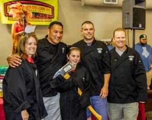 Santa Rosa Fire Department Axe Award 2015 Great Petaluma Chili Cook-Off
