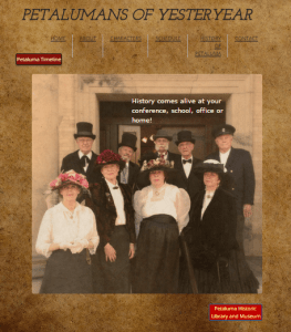 Petalumans of Yesteryear Website