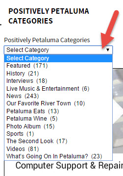 Categories on Positively Petaluma